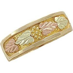 Landstrom 10K Black Hills Gold Men's Wedding Ring with Leaves - Size 13 (Jewelry)  http://balanceddiet.me.uk/lushstuff.php?p=B004WME2CE  B004WME2CE