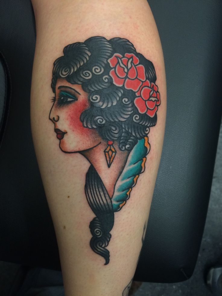 Done by Nate Morettei at Salvation Tattoo in Richmond VA.