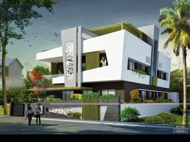 Ultra modern home designs house 3d interior exterior Ultra modern house