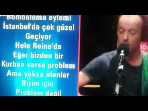 Aşağalık Fransiz Şarkıcı/ Frederic Fromet/ Türklere Hakaret ve Reina Saldirisi ile Dalga Geçmesi /11.01. 2017