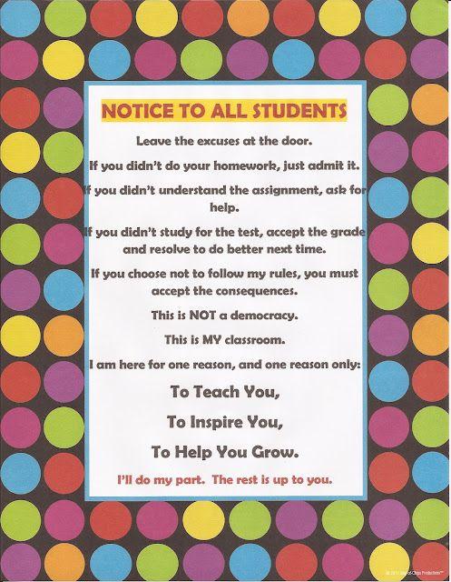 Brilliant... My school philosophy