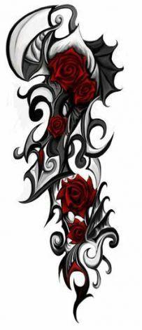 Tattoo Ideen Oberschenkel Rosen 51 Ideas