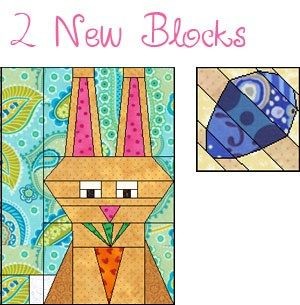 Download this fun project today! Add 2 new blocks and 39 new fabrics to your QDW, EQ6 or EQ7!