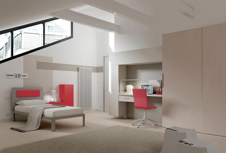 """#Arredamento #Cameretta Moretti Compact: Collezione 2012 """"Team"""" > Kids >> kc23 http://www.moretticompact.it/kids.htm"""