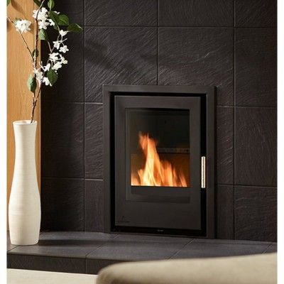 http://www.gr8fires.co.uk/aarrow-i400-6-kw-flexifuel-multi-fuel-convector-stove?utm_source=Social&utm_medium=Social - Aarrow i400 inset cassette wood-burning stove.
