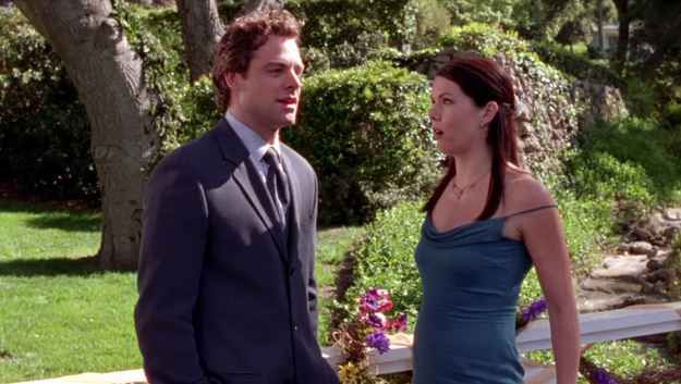 When Christopher and Lorelai almost get together but he had to leave her because his girlfriend Sherry got pregnant.