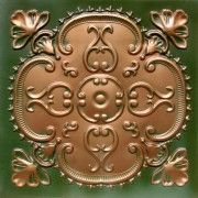 #217 Patina Copper http://www.talissadecor.com/catalog/glue-up-faux-tin-ceiling-tiles/antique-finish-ceiling-tile