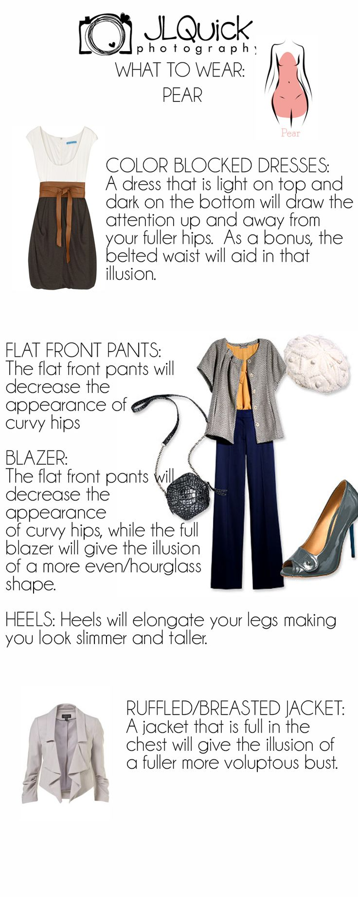 What To Wear For the Pear Shaped Body JLQuick Photography Delaware Photographer
