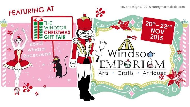 The @WindsorEmporium will feature at @windsorxmasfair 20-22 Nov at @WindsorRaces #Christmas Sorted! #gifts
