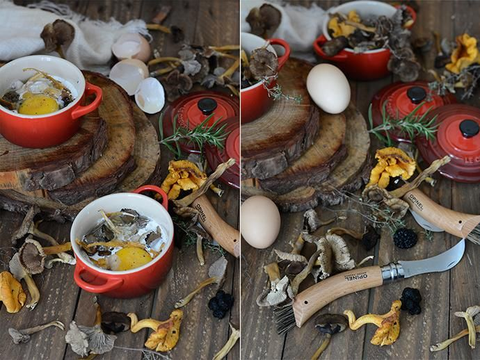 huevos trufados en mini-cocotte le creuset