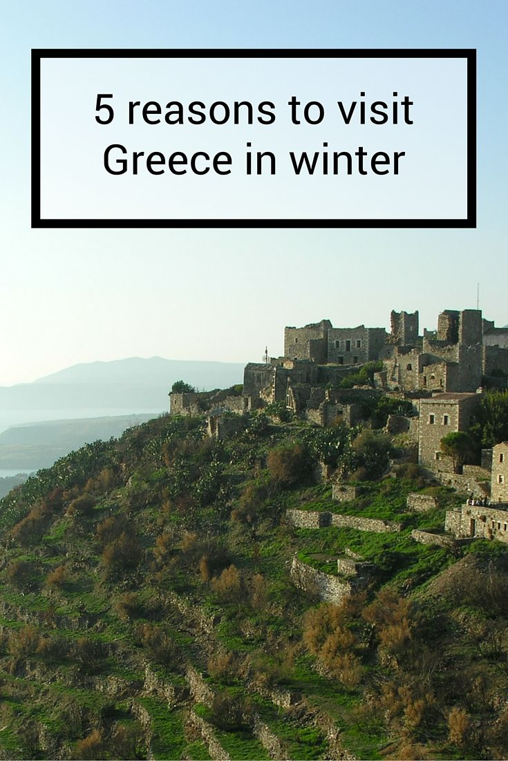 5 reasons to visit Greece in winter including what to do and see.