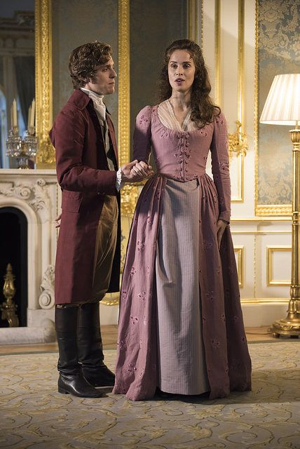 Jack Farthing and Heida Reed from BBC's Poldark | by UKTI