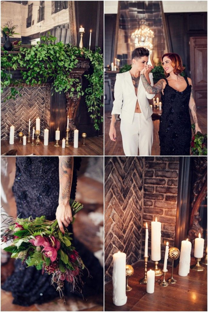 Photographer:  Kristina Lee Photography | Event Planner: At Your Door Events | Invitation Designer: Paper Crew | Floral Designer: Rebelle Fleurs | Event Venue: The Ebell Club Long Beach