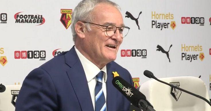 Claudio Ranieri claims he DIDN'T KNOW Arsenal vs Tottenham...: Claudio Ranieri claims he… #ArsenalVsOlympiakos #ArsenalvsWatford #Arsenal