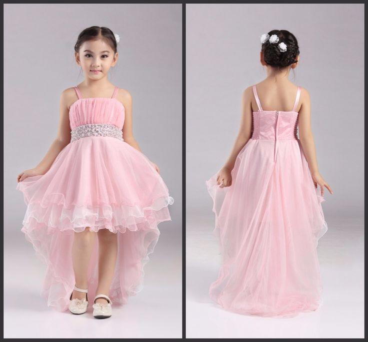 Venta al por mayor fábrica de 4 12 años Party Girl Dress 2016 nueva flor color de rosa de la muchacha vestidos trasero largo delantero corto niños vestidos de noche Btl 04 en Vestidos de Damita de Honor de Bodas y Eventos en AliExpress.com   Alibaba Group