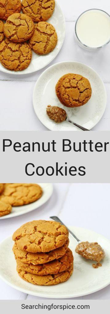 These peanut butter cookies are gorgeously moreish with a delicious nutty flavour.   They make a brilliant snack for those mid-morning and mid-afternoon biscuit cravings. #peantutbuttercookies #cookies #biscuits #peanutbutter #recipe #snacks