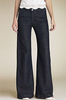 J Brand Pallatzo jeans: Women Fashion, Wide Legs Pants, Art Wide, Elephant Pants, Pants 1970S, Wide Legs Jeans, Elephants Pants, Comfy Pants, Elephants Legs