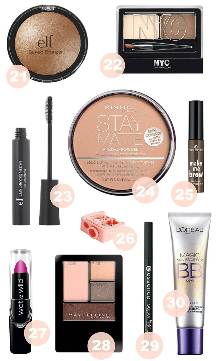 Best Makeup Products Under $5 - Mash Elle