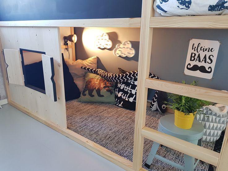 Ikea kura met luikjes