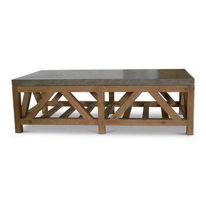 Orient Express Furniture Blue Stone Coffee Table Youu0027ll Love | Wayfair