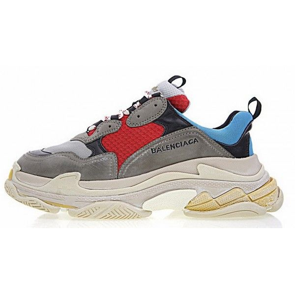 Shoes Fashion Sneakers Blue Red