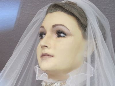 La Pascualita is the name given to a bridal mannequin in Mexico. According to the legend it isn't a dummy at all, but the dead daughter of the former owner.