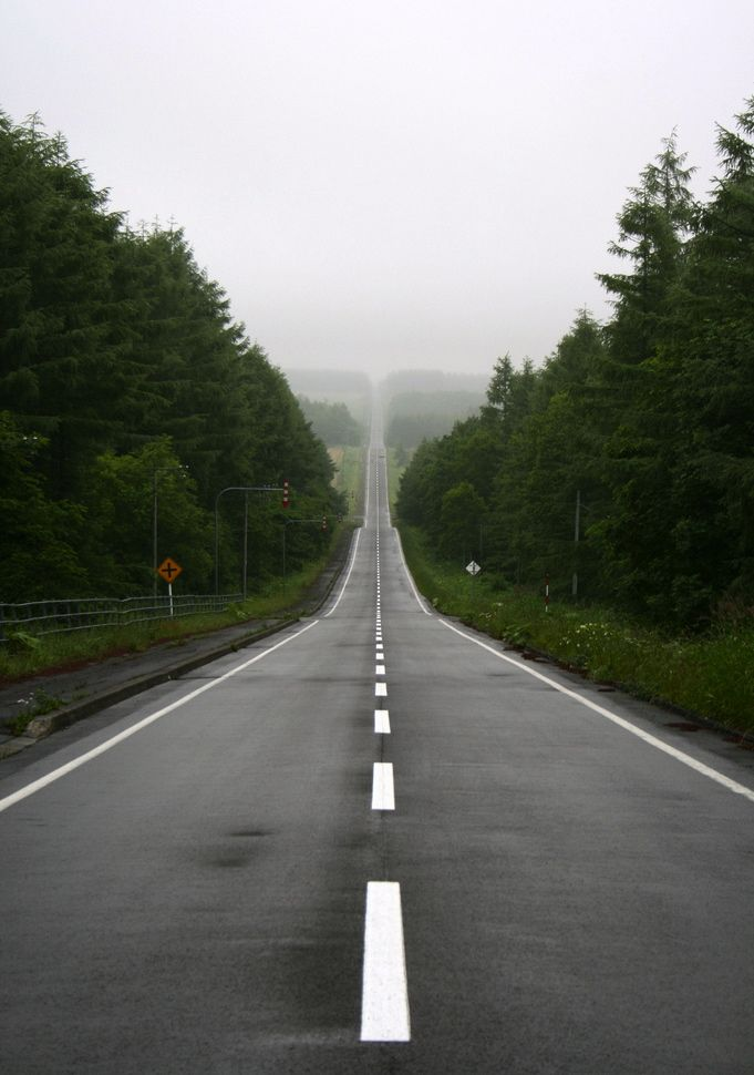 long straight road - photo #17