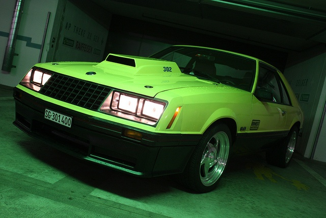 '79 Mustang Cobra, old cars, I actually like it