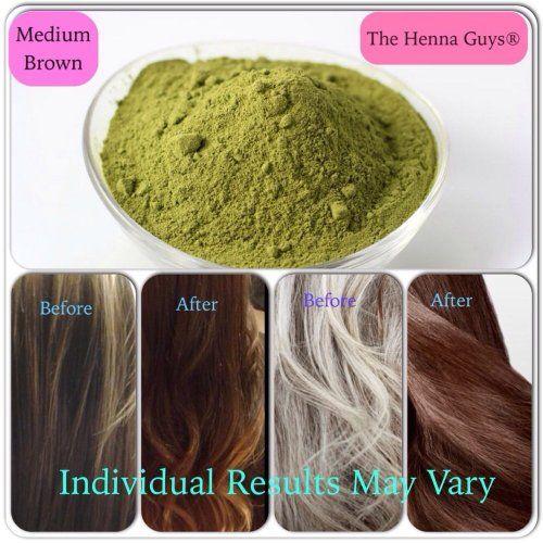 Medium Brown Henna Hair Capelli