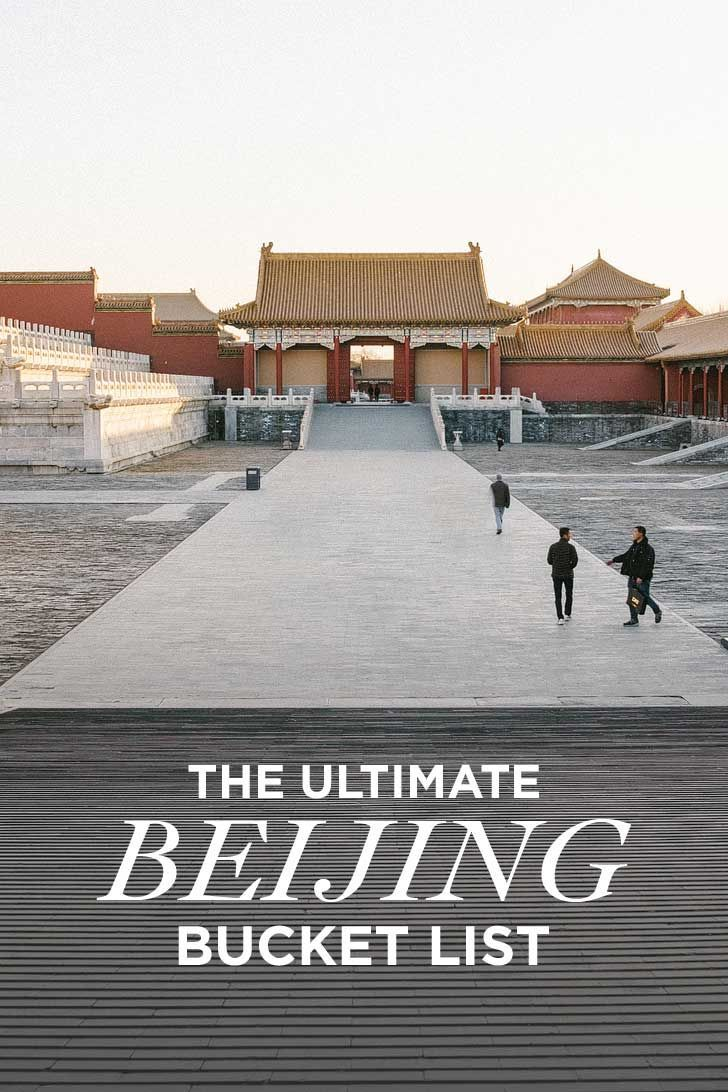 The Ultimate Beijing Bucket List - from the popular spots everyone has to do at least once to the spots a little more off the beaten path. // http://localadventurer.com
