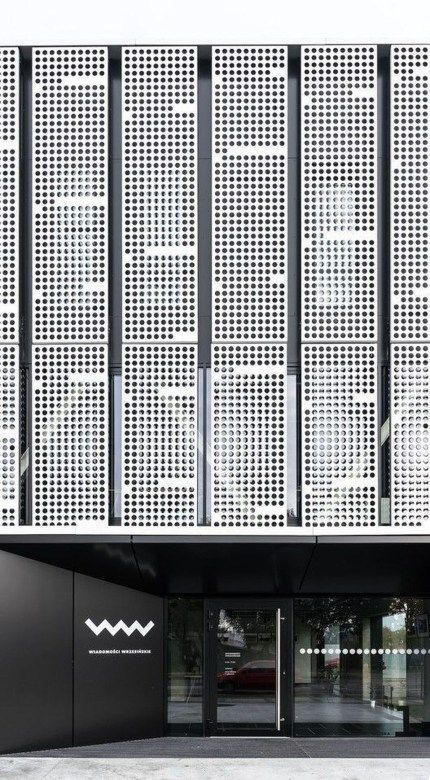 20+ Melhores projetos de fachadas de 2018 com diferentes materiais   – Facades