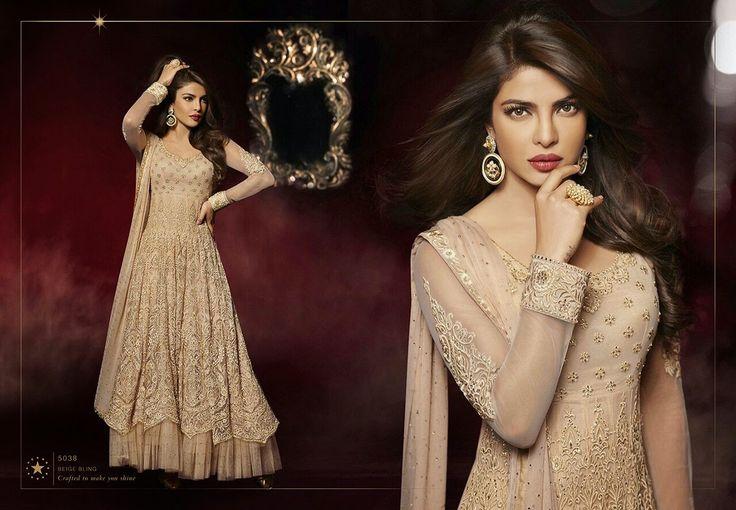 Beautiful Georgette Anarkalis @delhi6store Priyanka Chopra Suit