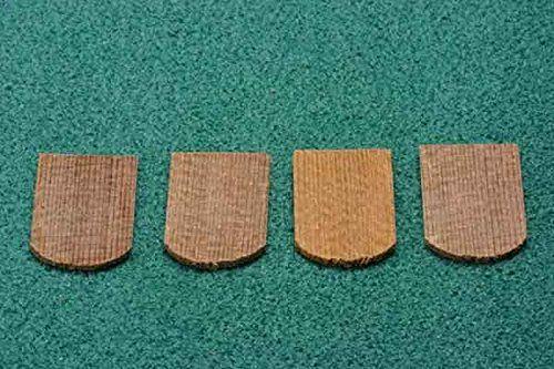 Best Fishscale Cedar Shingles For Dollhouse Miniature Roofing 400 x 300