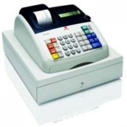 Caja registradora electrónica 9 caracteres pantalla LCD tinta de la impresora numérica rollo de 2,2 lps hasta 200 PLUs programables y 14 departamentos 8 códigos de empleado 4 tipos de IVA posibilidad de trabajar en el modo de entrenamiento teclado alfanumérico para la programación altamente funcionales