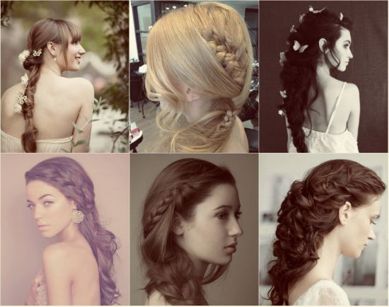 Newest Braid Hairstyles For Your Wedding Day Simple Long Embellished