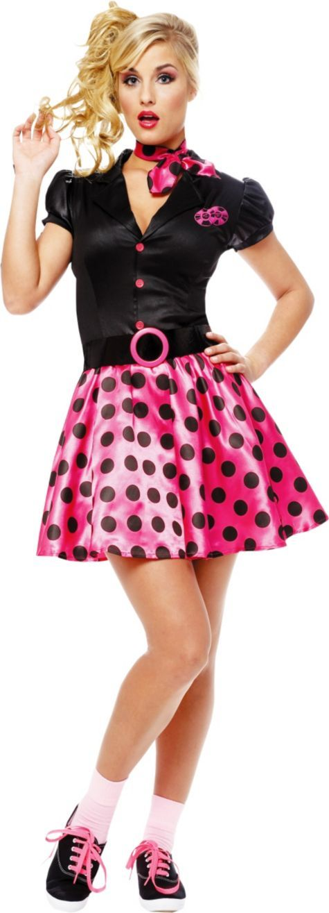 Adult Sock Hop 50s Costume - Party City