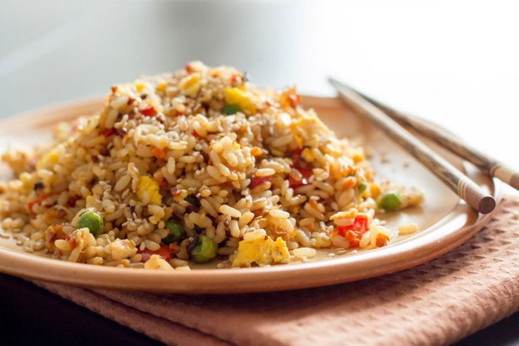 Gebratener Reis mit Gemüse und Ei – Kathrin Krause
