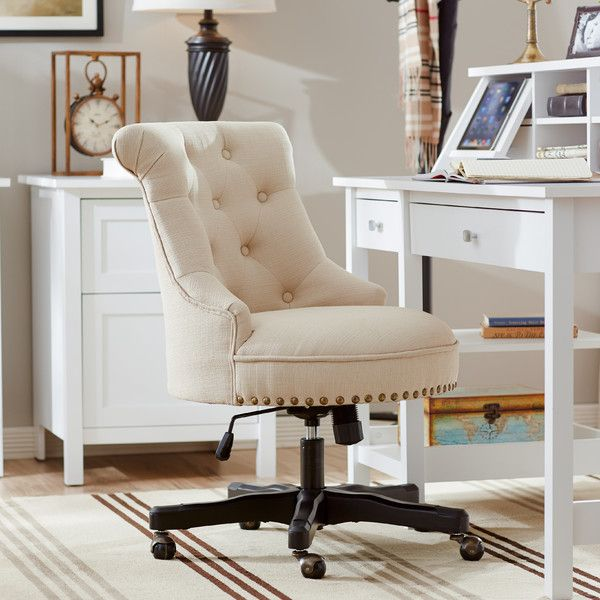 Eckard Task Chair For The Home Tufted Desk Chair High