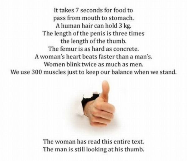 How many of you stopped reading these interesting human body facts ...