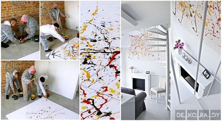 Jak zrobić prosty obraz, który ożywi każde białe wnętrze?  Po więcej zapraszamy na stronę Deko-rady.pl  Zdjęcia: Michal Mrowiec Photography