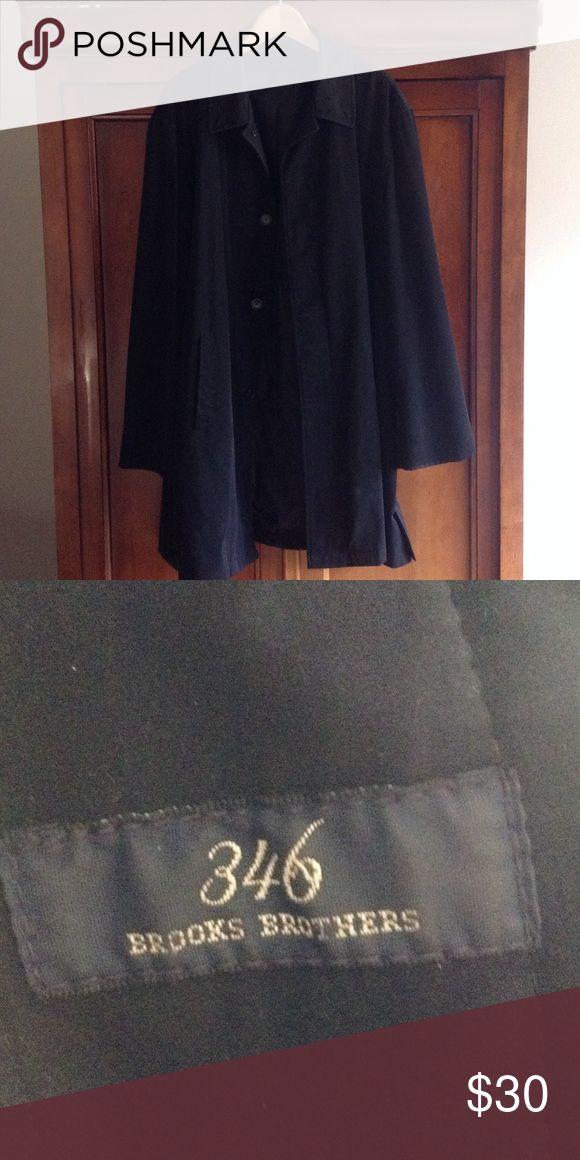 Mens raincoat zip out lining xl Mens raincoat zip out lining missing the lining brooks brothers xl Brooks Brothers Jackets & Coats Raincoats