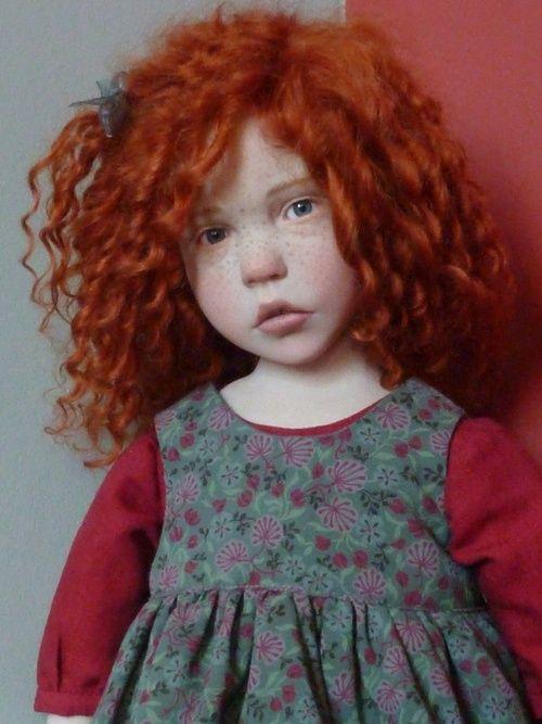Red hair doll/ Una expresión muy real! …