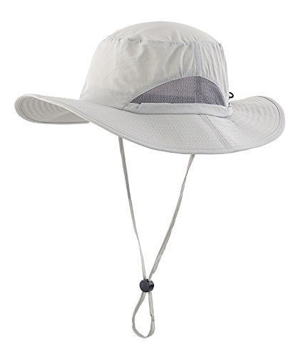 Home Prefer Men s Sun Hats Breathable Light Weight UPF50+ Wide Brim Fishing  Hat  HomePrefer 2d422a641eab