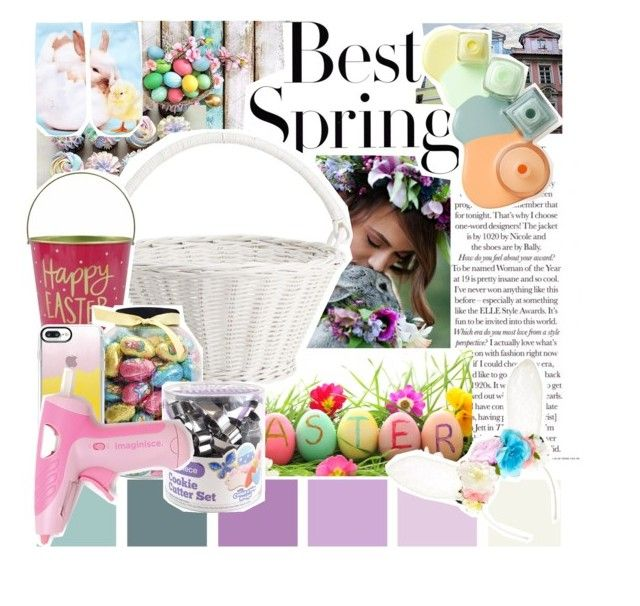 """""""the best spring"""" by mint-green-macaroonn ❤ liked on Polyvore featuring interior, interiors, interior design, home, home decor, interior decorating, H&M, Pottery Barn, John Lewis and Casetify"""