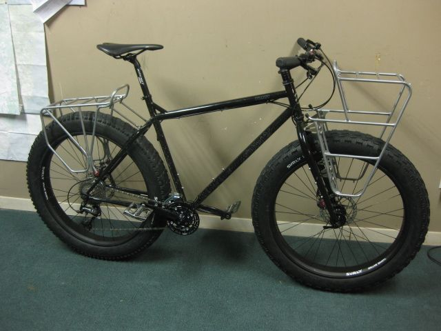 Surly Front rack mounts to Moonlander fork - no modifications ...