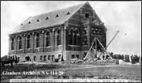Image No: NA-114-20 Title: Mormon tabernacle, Cardston, Alberta. Date: May 18, 1912 Remarks: Official opening.