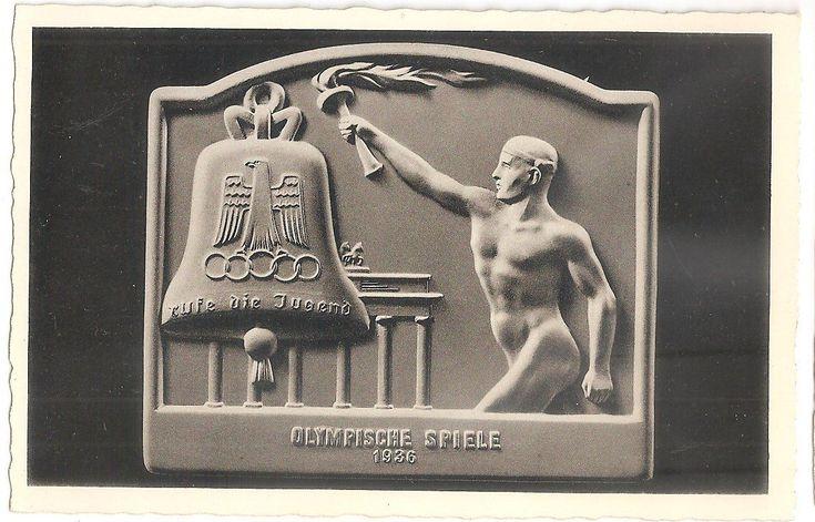 Открытки олимпийских игр 1936 года, ванной классика