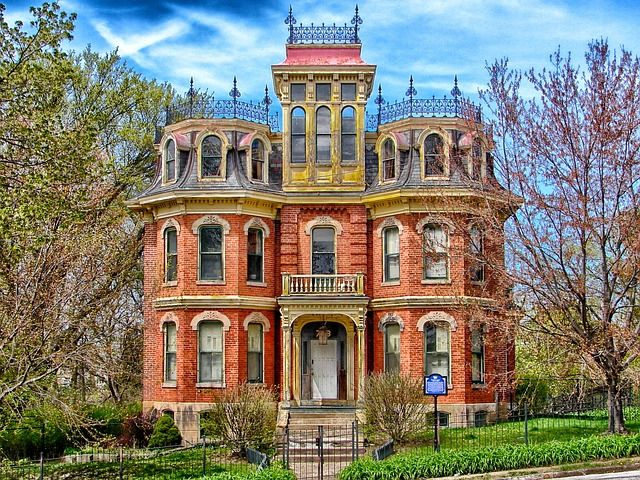 free image on pixabay davenport iowa house mansion