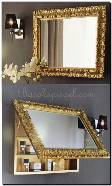 23 beste afbeeldingen over creatief met spiegels en spiegel lijsten op pinterest zoeken - Barok spiegel voor badkamers ...