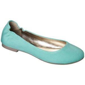 Women's Mossimo Supply Co. Ona Ballet Flat - Mint